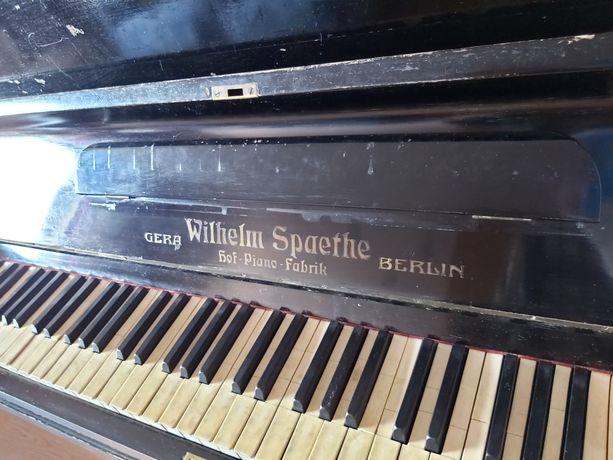 Антикварное немецкое фортепиано / пианино