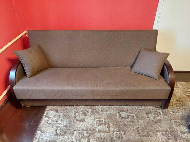 Zestaw wypoczynkowy kanapa rozkładana i 2 fotele