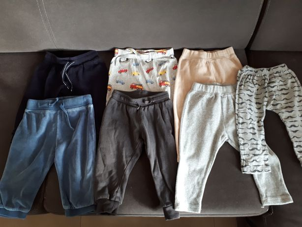 Zestaw komplet spodnie hm cool club inne 80