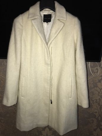 Шикарне шерстяне пальто New look 14розмір
