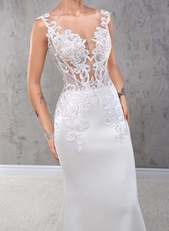 Suknia ślubna - klasyczna elegancja