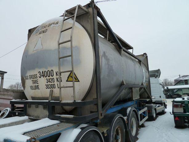 Танк-контейнер 20 футовый 30 м.куб. с подогревом из Германии