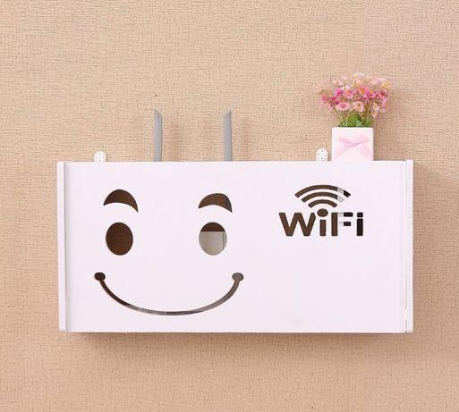 Półka wisząca WiFi Router Osłona routera Dekoracje