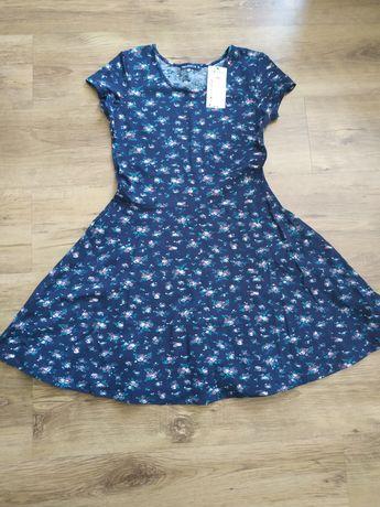 Nowa sukienka w różyczki