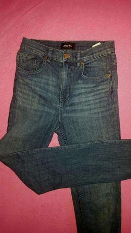 monki asos wysoki stan jeansy nowe 36