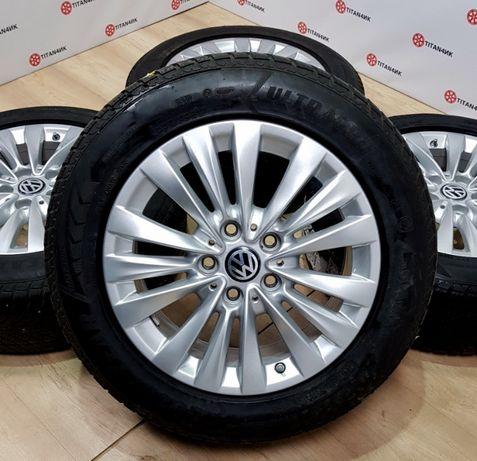 Диски VW R16 5x112 Golf Jetta Caddy Touran Skoda Superb Octavia титани