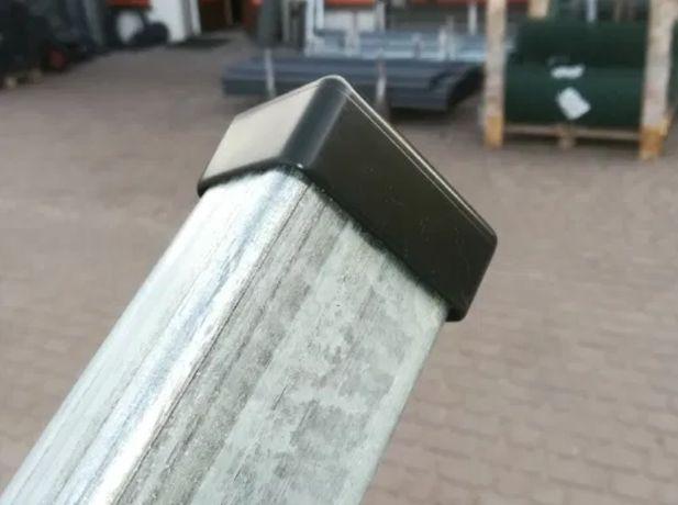 Słupek 60x40 2.,2m ocynk ogrodzenie panelowe panel ogrodzeniowy profil