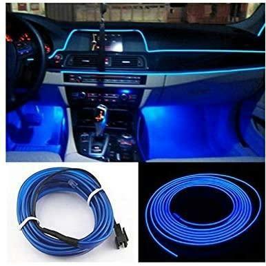 Подсветка для салона 5 М автомобиля с адаптером в прикуриватель CAR Co