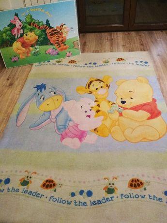 Dywan dziecięcy, Kubuś Puchatek, Disney + plakat