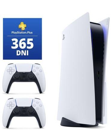 Playstation 5 ( ps5 ) 2 pady + ps plus na rok + gwarancja 2 lata