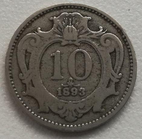 Austro-Węgry Austria 10 Heller 1893