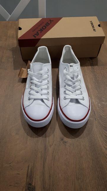 Nowe białe trampki rozmiar 39