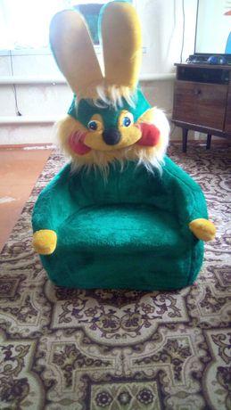 Продам детское кресло зайца