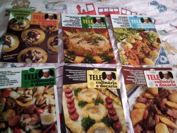 13 Revistas Tele Culinária e Doçaria