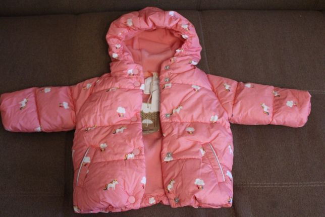 Куртка NEXT для малышки 6-9 месяцев ,новая осень-весна