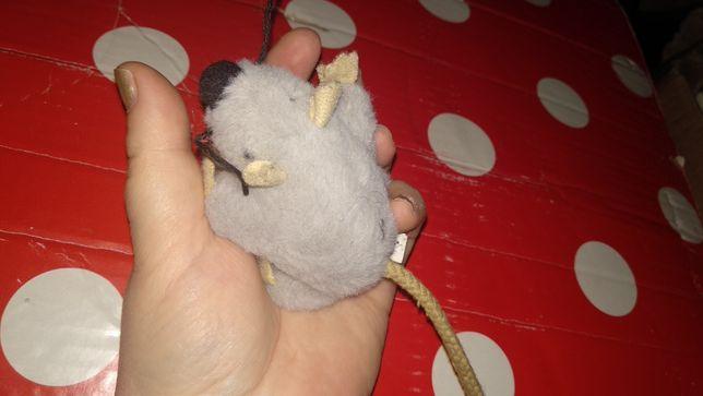 плюшевая игрушка мелкая крыса серая мышь мышка шкодная германия