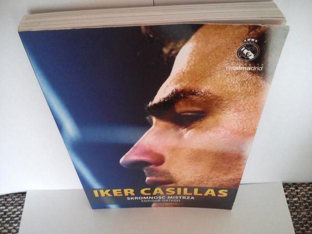 Iker Casillas Real Madryt Skromność Mistrza biografia Stan Bardzo Dobr