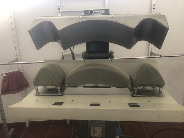 Prensa de termocolagem para camisaria