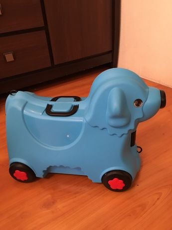 Чемодан детский на колесах Big (аналог Trunki)