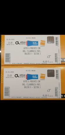 Bilhetes para Xutos & Pontapés