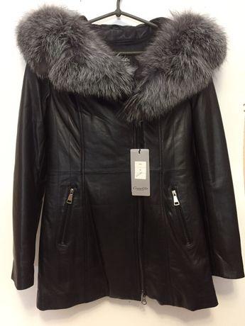 Натуральная итальянская кожаная куртка подойдёт под любую погоду