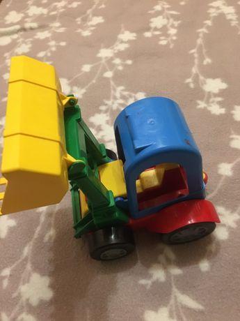 Трактор, каталка,карточки,килим розвиваючий
