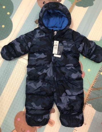 Зимний комбинезон для мальчика на новородженного gap оригинал