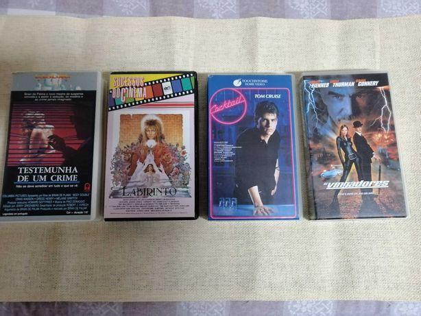 Filmes VHS - portes incluídos ctt normal
