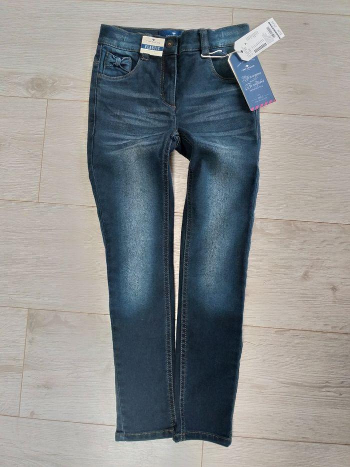 Jeansy Tom Tailor elastyczne jeansy oryginalne 128 NOWE Brzeg - image 1