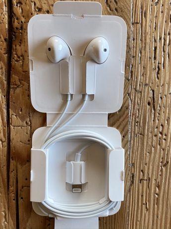 Słuchawki Ear Pods ze złączem Lightning
