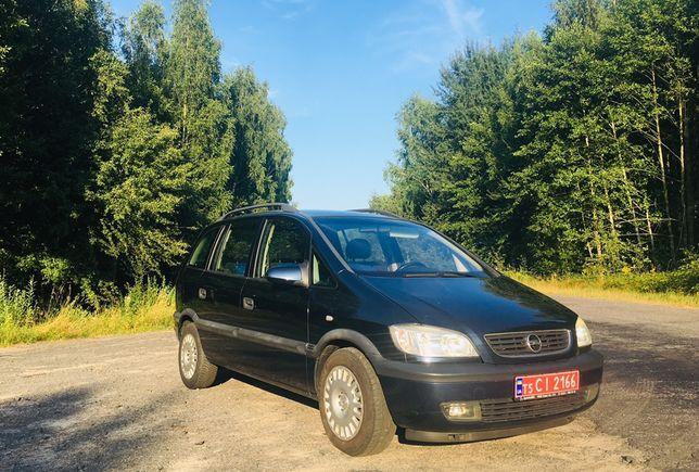 Opel Zafira А мінівен
