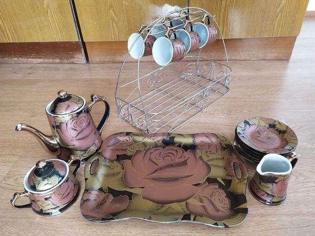 НОВЫЙ! Чайный сервиз YANTAR на 6 персон (19 предметов)