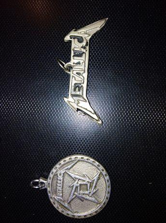 Металлика, унисекс, медальон