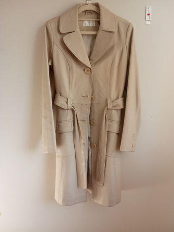 Płaszcz z imitacji skóry Reserved