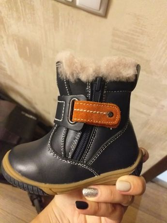 Зимові чобітки дитячі 21 розмір