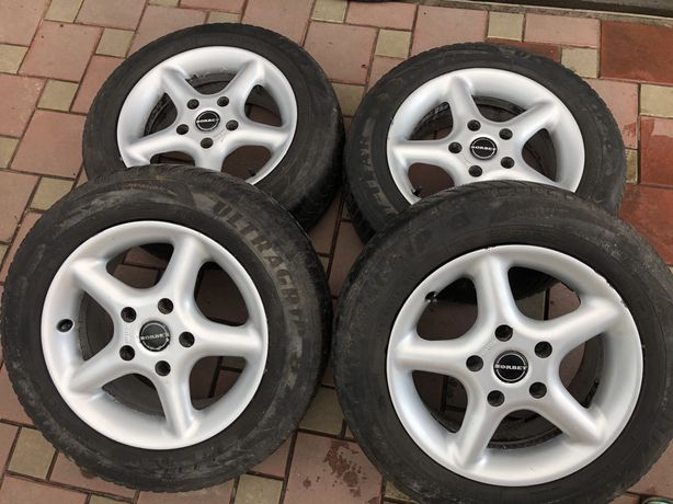 Диски Borbet R15 5x120 BMW, Hyundai H1, VW Transporter