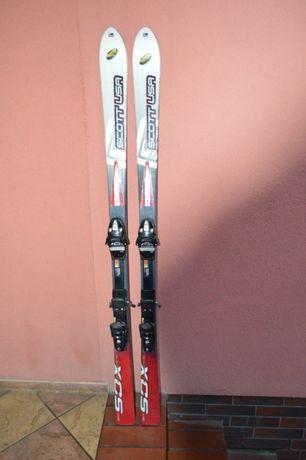 narty zjazdowe Scott USA Endorphin SOX 163 cm + wiązania Tyrolia