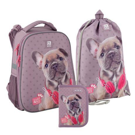 Набор рюкзак + пенал + сумка для обуви Kite 531 Studio Pets SP20-531M