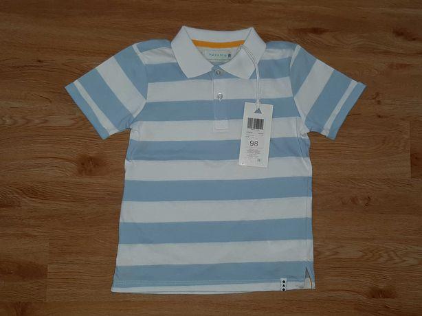 NOWA bluzka 98 cm 5.10.15. t-shirt polo koszulka