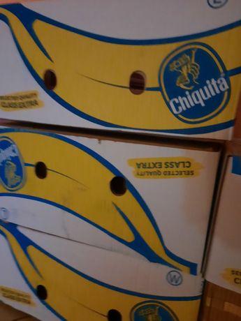 Kartony po bananach