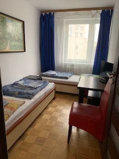 Kwatery pracownicze/pokoje 2,3,4 os/mieszkanie кімнати Mokotów/Wilanów