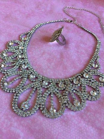 Vendo colar + anel ajustável