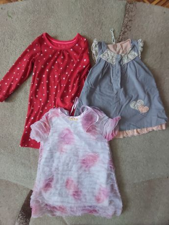 Платья 2-4 года