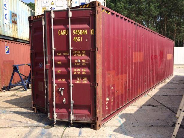 Kontenery morskie 40'HC (12m) Używane