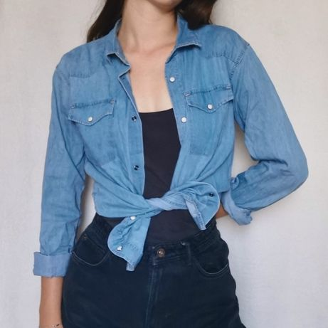 Jeansowa koszula Cubus
