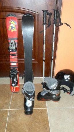 Zestaw dla małego narciarza