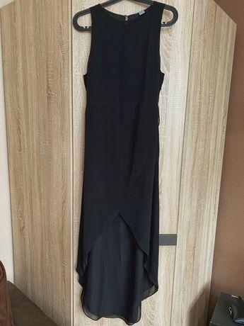 Sukienka H&M wieczorowa asymetryczna rozm. 38