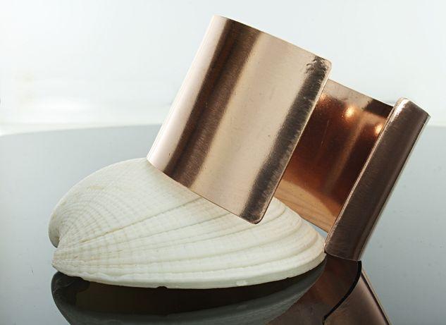 Bransoleta damska 100% miedź-4 cm