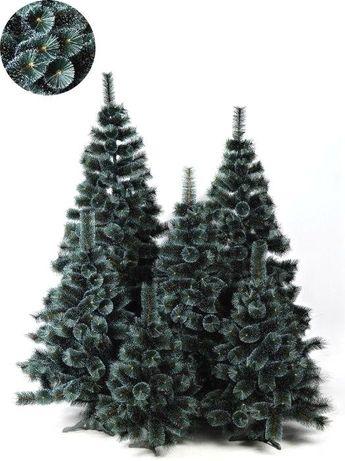 АКЦИЯ. Штучна Сосна Засніжена (з білими кінчиками)(70 см-2,5 м) дуже Г