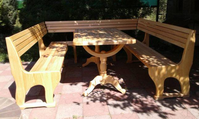 Садовая мебель, В баню, Для кухни - натуральное дерево, ручная работа